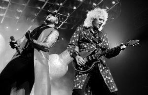 Adam Lambert Harmonizing With Queen Backstage Is Something Magical