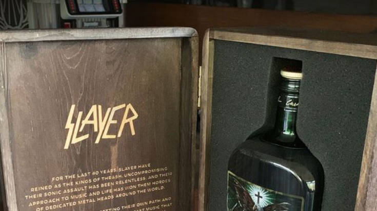 "Jagermeister Launches New Limited Edition ""Slayer"" Bottle"