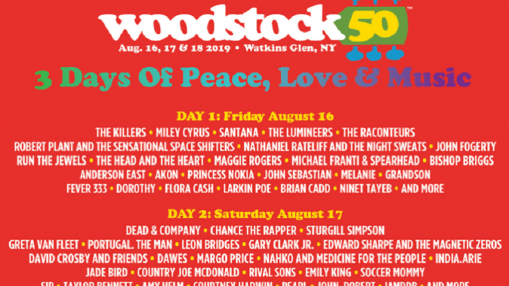 Woodstock 50 Just Hit Another Major Hurdle | Society Of Rock Videos