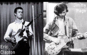 The Jimmy Page And Eric Clapton Hangout Story