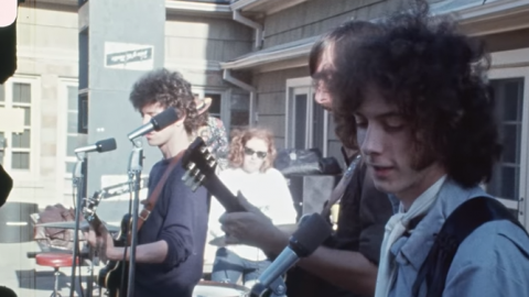 Never-Before-Seen Colored Footage of Velvet Underground's Performance At Dallas Peace Day in 1969 Surfaces | Society Of Rock Videos