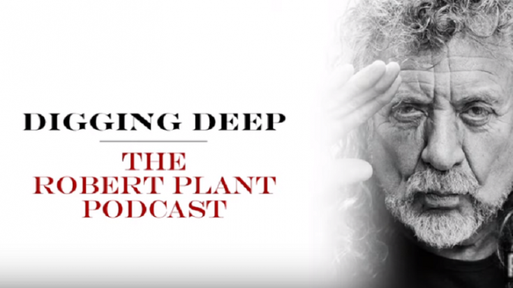 Robert Plant Revisits How He Started His Solo Career Through His Podcast | Society Of Rock Videos