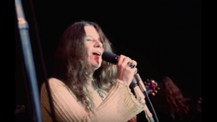 """Watch Janis Joplin Give Her All In Monterey Pop Festival Performance Of """"Ball And Chain"""" 