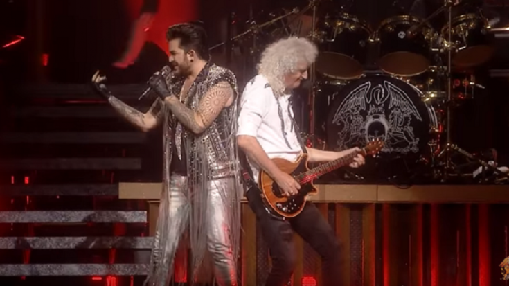 "Queen and Adam Lambert Performs ""Fat Bottomed Girls"" With Dallas Cowboys Cheerleaders – Watch! 