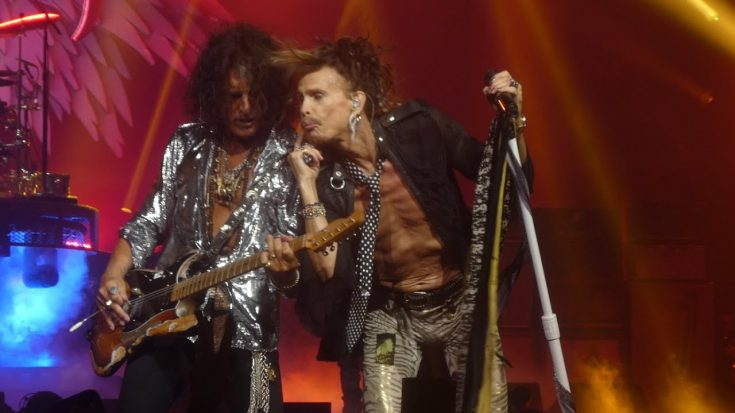 Watch Joe Perry Get Angry At Steven Tyler Because Of A Kiss | Society Of Rock Videos