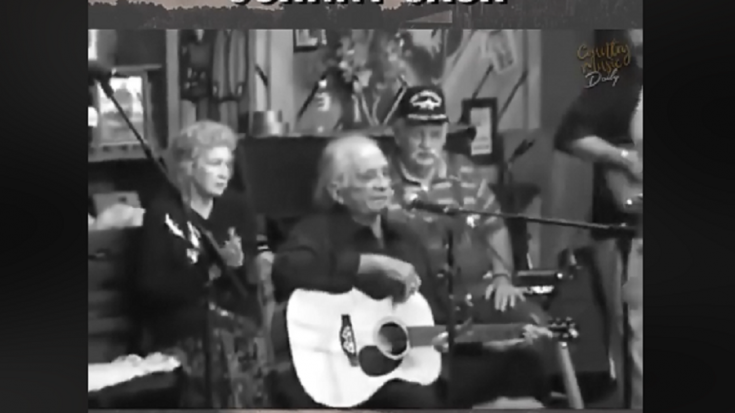 The Heartbreaking Final Live Performance Of Johnny Cash