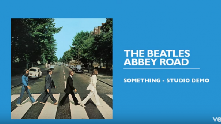 "Listen To The Demo Version Of ""Something"" By The Beatles – George's Voice Is Heavenly 