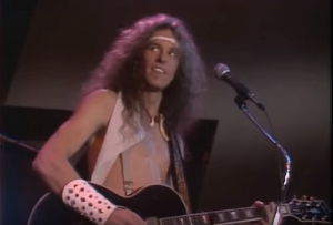 "Ted Nugent Rocks Out To ""Cat Scratch Fever"" In Midnight Special 1978"