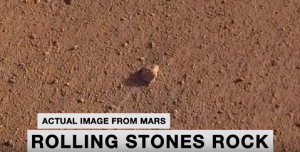 NASA Named Martian Rock After The Rolling Stones