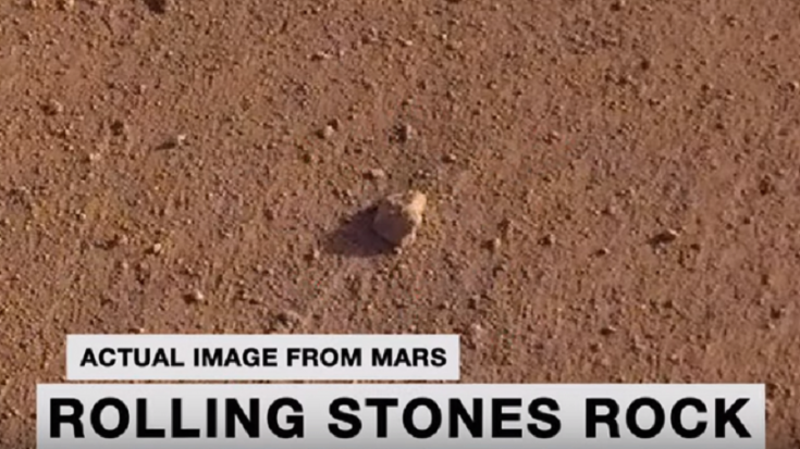 NASA Named Martian Rock After The Rolling Stones | Society Of Rock Videos