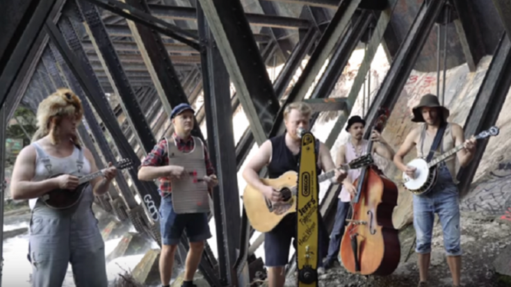 """Finland Band Sings """"House Of The Rising Sun"""" Bluegrass Style 