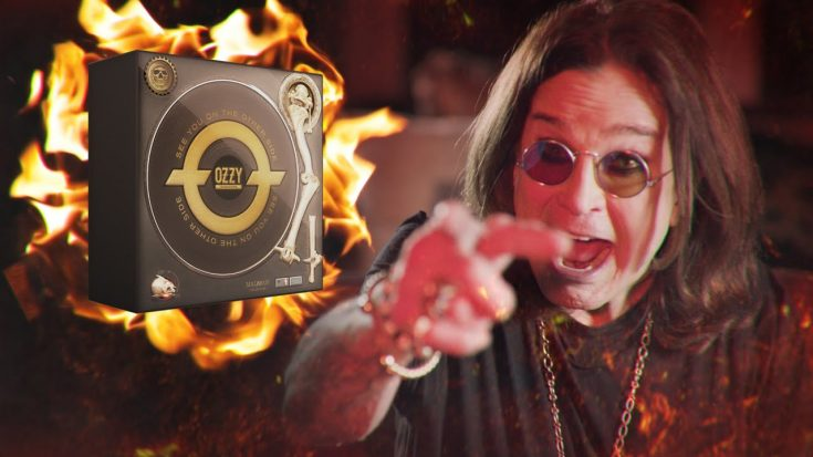 Ozzy Osbourne To Release Solo Career Limited Edition Box
