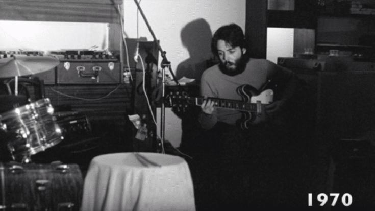 Watch A Video Of Paul McCartney's Vocal Evolution