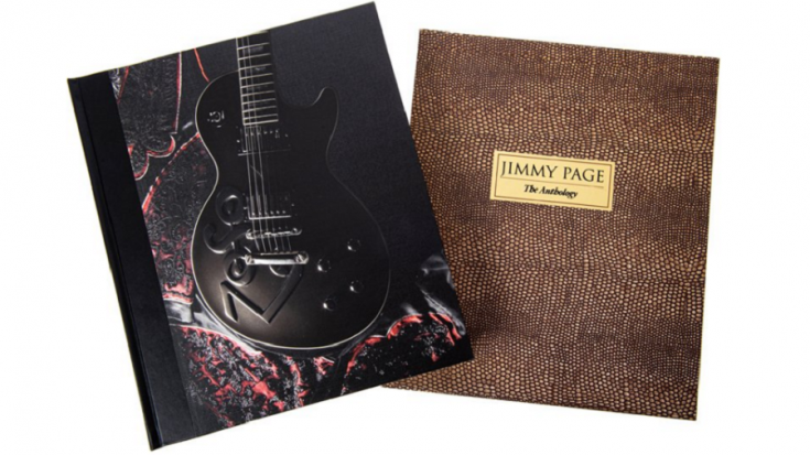 """Jimmy Page Will Release An """"Anthology"""" Book 