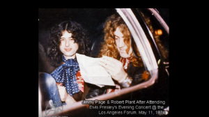 What Happened When Led Zeppelin Met Elvis Presley