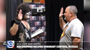 KISS Drummer Eric Singer Is Now An Honorary Police Officer