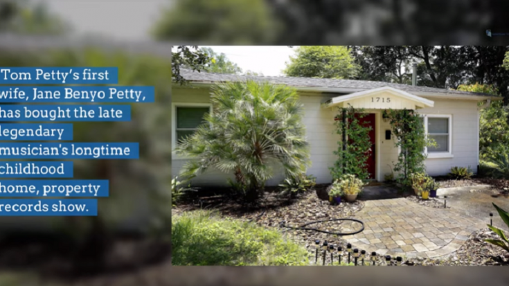 Tom Petty's Childhood Home Sold To His Ex-Wife for $175,000