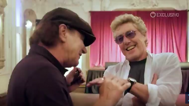 Brian Johnson And Roger Daltrey Talk About Originality and Mick Jagger | Society Of Rock Videos