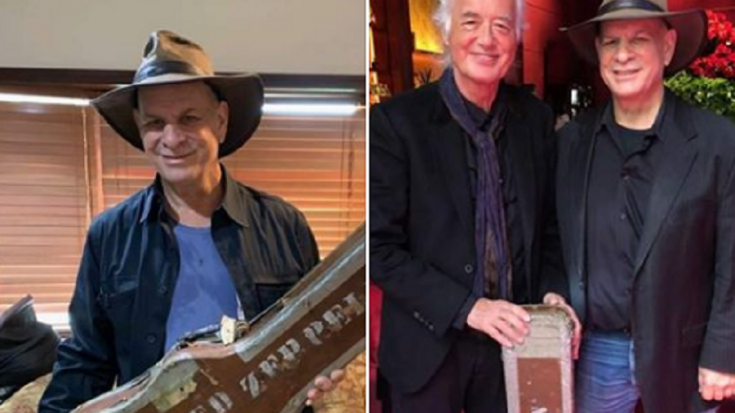 The Story Of How Jimmy Page Recovered His Classic Guitar Case