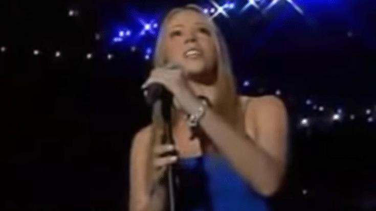 Mariah Carey Sings National Anthem at Super Bowl- 9/11 Tribute | Society Of Rock Videos