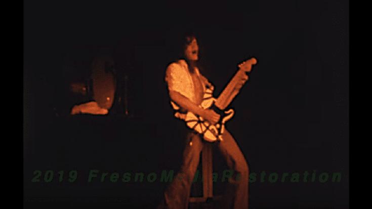 Watch Van Halen's First World Tour | Society Of Rock Videos