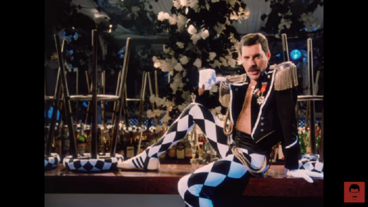 "Watch Remastered Video Of Freddie Mercury's ""Living On My Own"" 