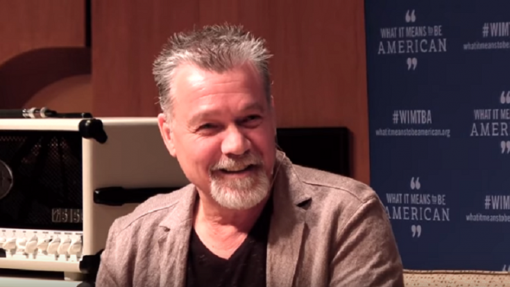 Eddie Van Halen is Reportedly Receiving Throat Cancer Treatment in Germany | Society Of Rock Videos
