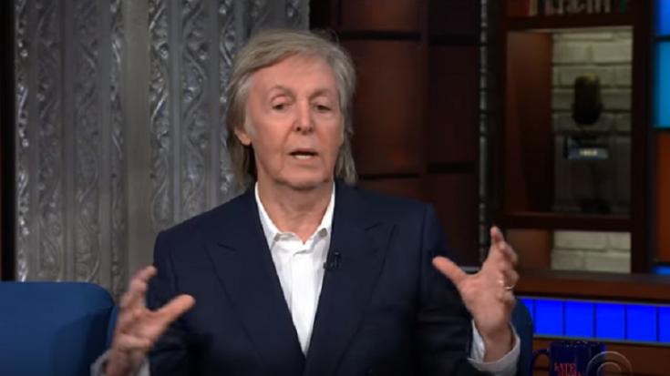 """Paul McCartney Talks About The Beatles """"Scream"""" And Being Knighted By The Queen 