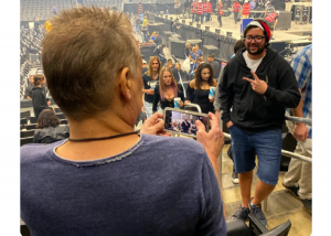 Tool Fan Didn't Know He Asked Eddie Van Halen To Take His Picture