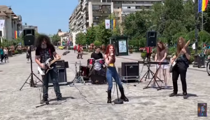 "Watch A New Band Called The Iron Cross Cover ""Crazy Train"" By Ozzy Osbourne"