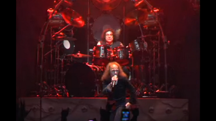 The Last Performance Of Ronnie James Dio | Society Of Rock Videos
