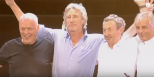 Pink Floyd Streams Live 8 Reunion
