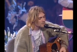 Kurt Cobain's 1993 Unplugged Sweater Sells For $334,000