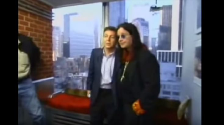 Relive The Moment Ozzy Osbourne Met Paul McCartney | Society Of Rock Videos