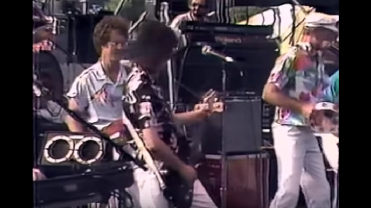 1985: Jimmy Page Plays A Surprise Gig With The Beach Boys | Society Of Rock Videos