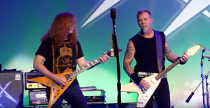 Dave Mustaine Reconnects With James Hetfield