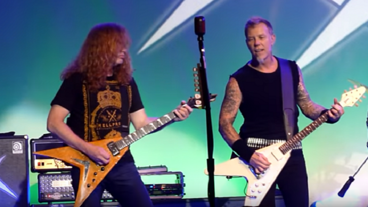 Dave Mustaine Reconnects With James Hetfield | Society Of Rock Videos