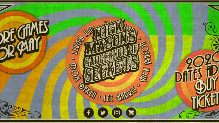 Pink Floyd's Nick Mason Adds Dates To UK Tour | Society Of Rock Videos