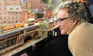Rod Stewart's Lets The World See His Completed Model Railway