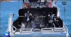 KISS Perform Their Shark Show – Watch