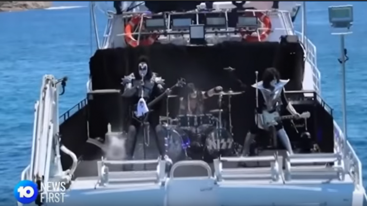 KISS Perform Their Shark Show – Watch | Society Of Rock Videos