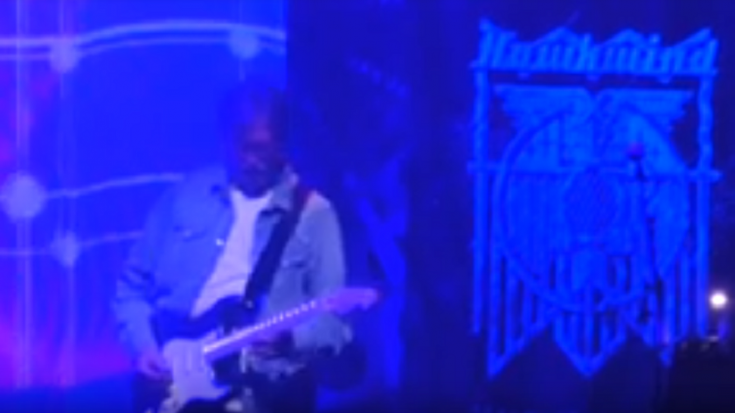 Eric Clapton Joins Hawkwind In UK Performance – Watch | Society Of Rock Videos