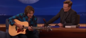 Watch John Fogerty Do An Impromptu Performance Live On Conan
