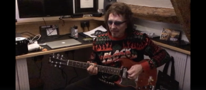 Tony Iommi Streams Holiday Greeting Video