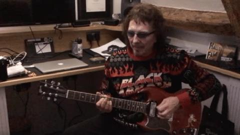 Tony Iommi Streams Holiday Greeting Video