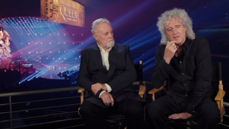 Brian May Clarifies What Roger Taylor's Award Means | Society Of Rock Videos