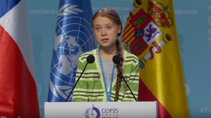 Greta Thunberg Gave Meat Loaf Response | Society Of Rock Videos