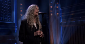 "Watch Patti Smith Perform A Cover Of ""After The Gold Rush"""