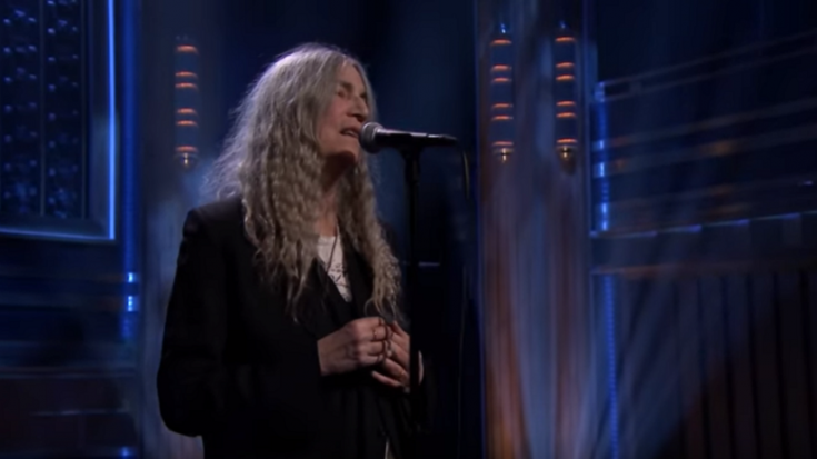 "Watch Patti Smith Perform A Cover Of ""After The Gold Rush"" 