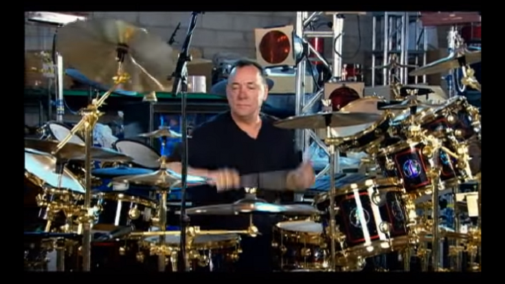 Relive Neil Peart Teaching Drums And Riding Motorcycles | Society Of Rock Videos